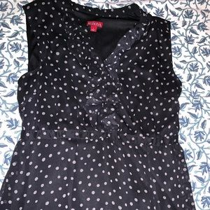 Merona polka dot dress